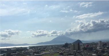 桜島と成長