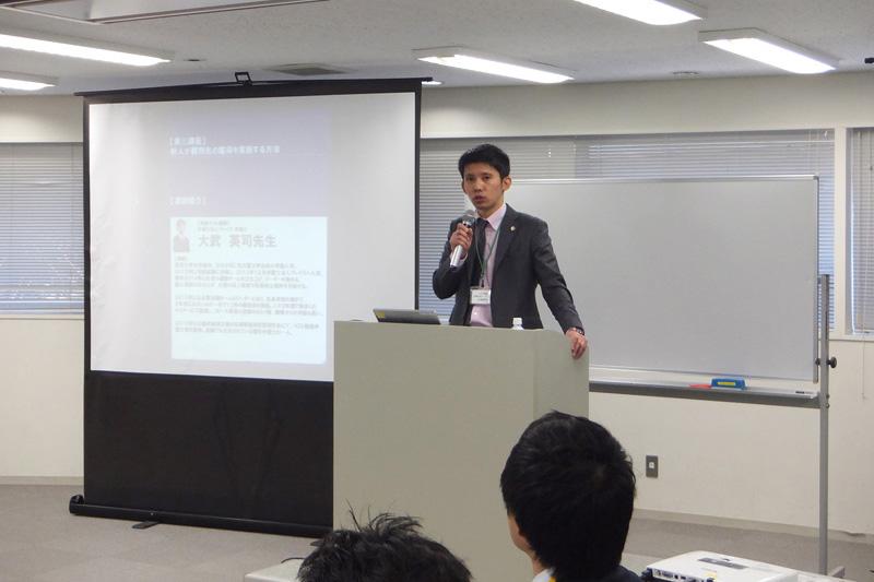 株式会社船井総合研究所主催の「新人若手弁護士研修2016」において、当事務所の弁護士・大武がゲスト講師として特別講座を行いました。