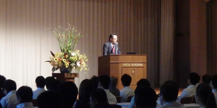 現デルタ航空日本支社長の森本大氏をお迎えし、業務改革の秘訣についてお話いただくセミナーを開催いたしました。