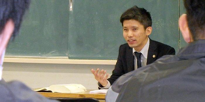 知覧中央福祉会様にお招きいただき、当事務所の弁護士・大武がゲスト講師として、社会福祉法改正に関する講演を行いました。